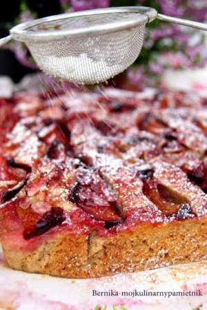 Ciasto jesienne ze śliwkami