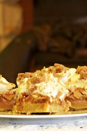 Ciasto jabłkowe z Amaretti