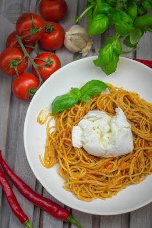 Pomidor - Bazylia - Mozzarella di bufala
