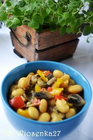 Curry fasolowe