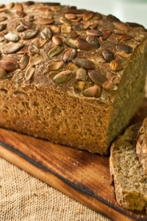 Chleb na zakwasie z dynią - Ezoteryczne spotkania przy piekarniku