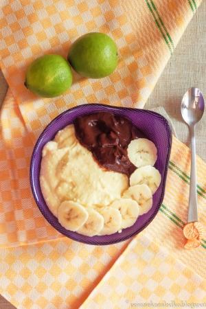 Gotowany serniczek i krem czekoladowy z awokado!