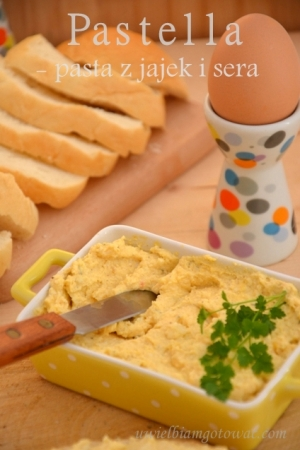 Pastella - pasta z jajek i sera