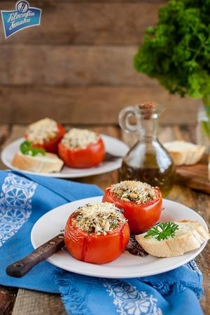 Pomidory faszerowane kaszą
