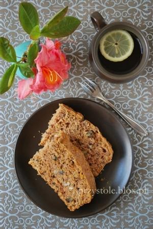 Ciasto z dynią i orzechami