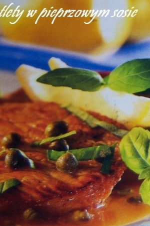 Kotlety w pieprzowym sosie