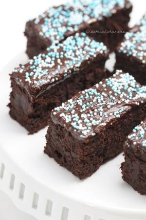 Ciasto ekstremalnie czekoladowe