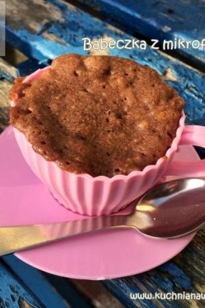 Babeczka z filiżanki czyli ciastko z mikrofalówki