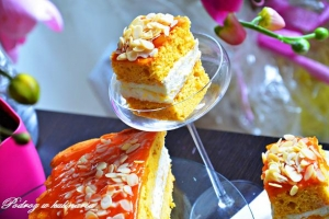 Ciasto dyniowe z pomarańczą i mascarpone