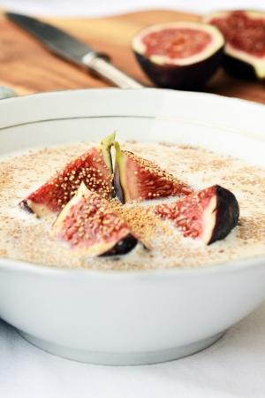 Pomysł na śniadanie: amarantus z figą