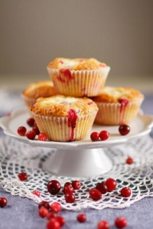 Muffinki z borówkami i ricottą