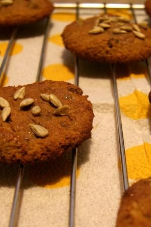 Ciasteczka słonecznikowe