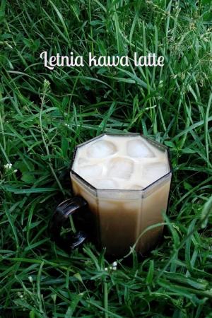Letnia kawa latte