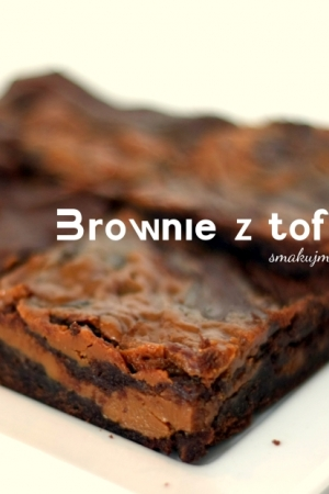 Brownie z toffi