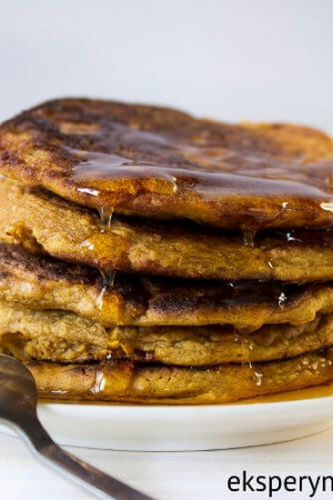 Placuszki dyniowe na śniadanie