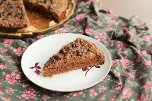 Wegańskie ciasto kawowe