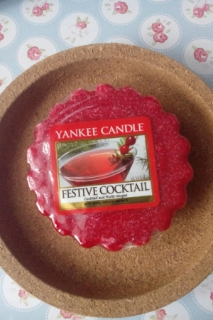 Czwartki z Yankee Candle FESTIVE COCTAIL