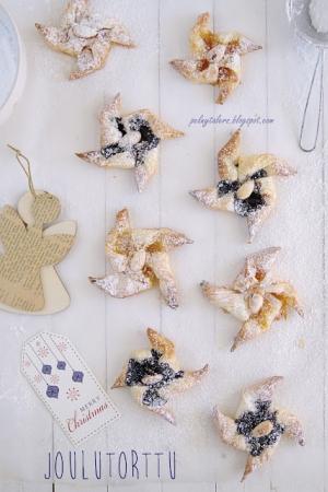 Joulutorttu, czyli fińskie ciasteczka świąteczne