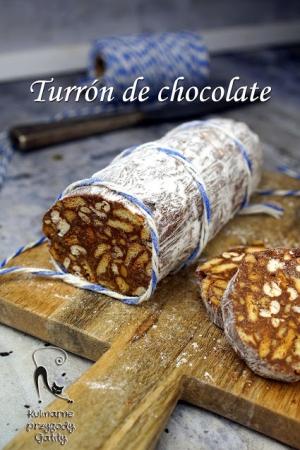 Turrón de chocolate, czyli hiszpański blok czekoladowy